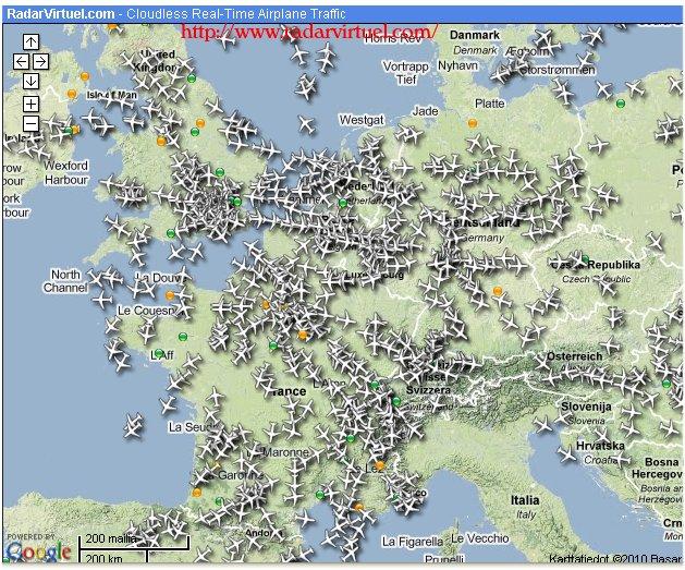 Lentokoneiden seuranta