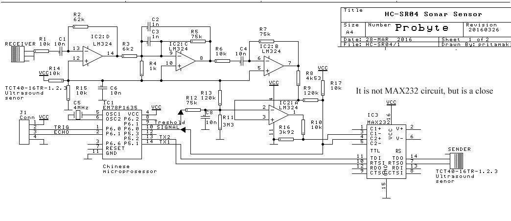 hc sr04 schematic  hc  get free image about wiring diagram