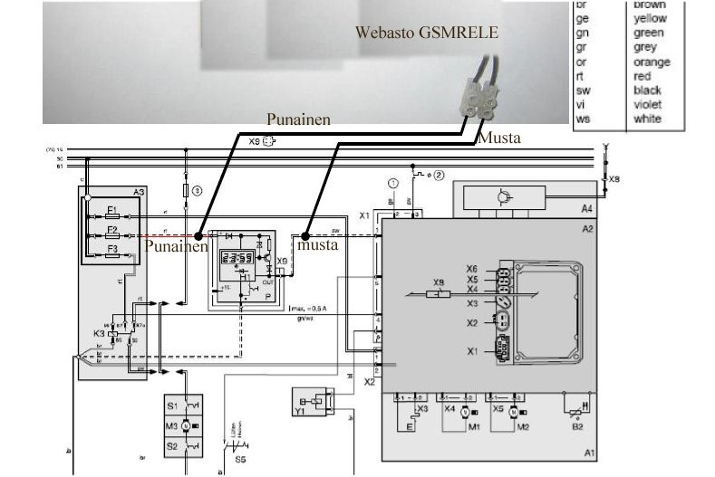 on diagram wiring